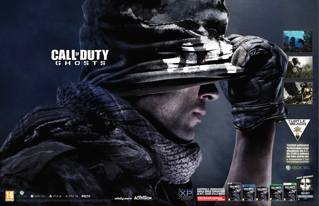 Activision Ghosts printti